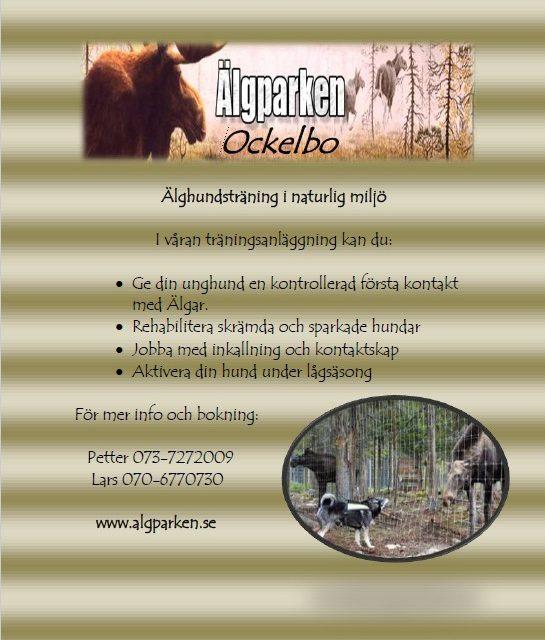 Avtal Ockelbo Älgpark